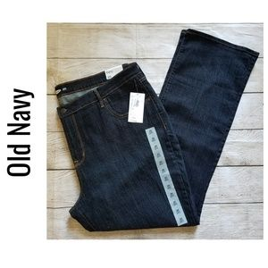 Old Navy Curvy Boot-Cut Jeans